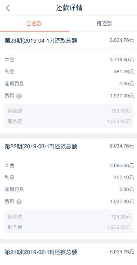 平安普惠贷款初期收取3%手续费
